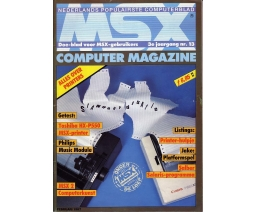 MSX Computer Magazine 13 - MBI Publications