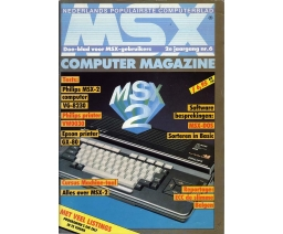 MSX Computer Magazine 06 - MBI Publications