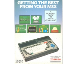 Getting the best from your MSX - Toshiba