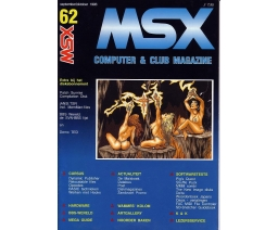 MSX Computer and Club Magazine 62 - Aktu Publications