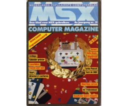 MSX Computer Magazine 21 - MBI Publications