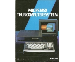 PHILIPS MSX Thuiscomputersysteem - Philips