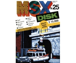 MSX DISK No.25 - Gruppo Editoriale International Education