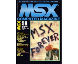 MSX Computer Magazine 56 - MBI Publications