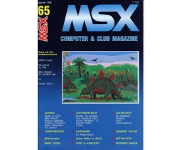 MSX Computer and Club Magazine 65 - Aktu Publications