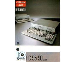 Victor AV Personal Computer HC-95/90 - Victor Co. of Japan (JVC)