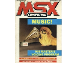 MSX Computing 1986-08/09 - Haymarket Publishing