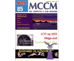 MSX Computer and Club Magazine 85 - Aktu Publications