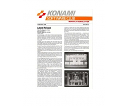 Konami Software Club 6 - Konami Software Club