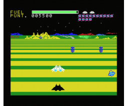 Buck Rogers - Planet of Zoom (1983, MSX, Sega)
