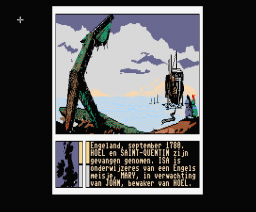 Passengers on the Wind (1986, MSX2, Infogrames)