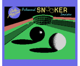 Tournament Snooker (1985, MSX, HARD Software)