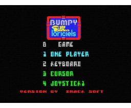 Bumpy (1989, MSX, Loriciels)