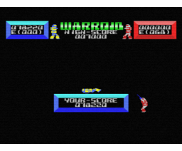 Warroid (1985, MSX, Yellow Horn)