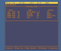 MAC Program Writer (1991, MSX2, MAC)