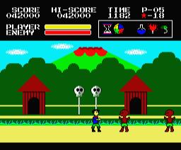 Devil Zone (1989, MSX2, Uttum)