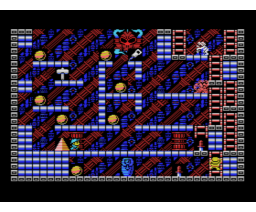 King's Valley II - The Seal of El Giza (1988, MSX, Konami)