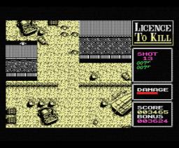 Licence To Kill (1989, MSX, Domark)