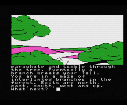 Emerald Isle (1985, MSX, Level 9 Computing)