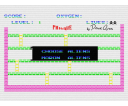 Panique (1986, MSX, The Bytebusters)
