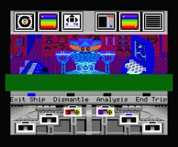 Koronis Rift (1986, MSX2, Activision, Lucasfilm Games)