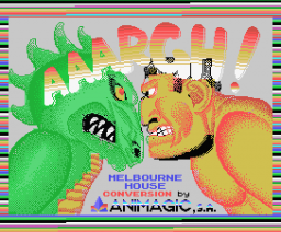 Aaargh! (1989, MSX, Melbourne House, Binary Design, Ltd)