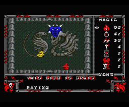 Druid (1988, MSX2, Firebird)