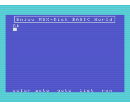 MSX-DOS MSX-DISK BASIC (1985, MSX, National)