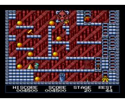 King's Valley II - The Seal of El Giza (1988, MSX2, Konami)
