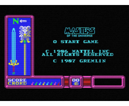 Masters of the Universe - The Movie (1987, MSX, Gremlin Graphics)