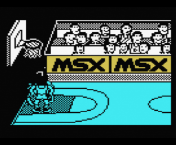 Fernando Martín Basket Master Executive Version (1987, MSX, Dinamic)