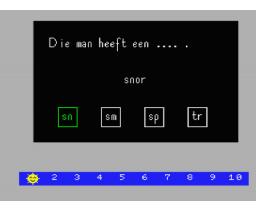 Veilig Leren Lezen - Programma 6 (MSX, Zwijsens Educatieve Software)