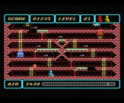 Spooks & Ladders (1985, MSX, Kuma Computers)