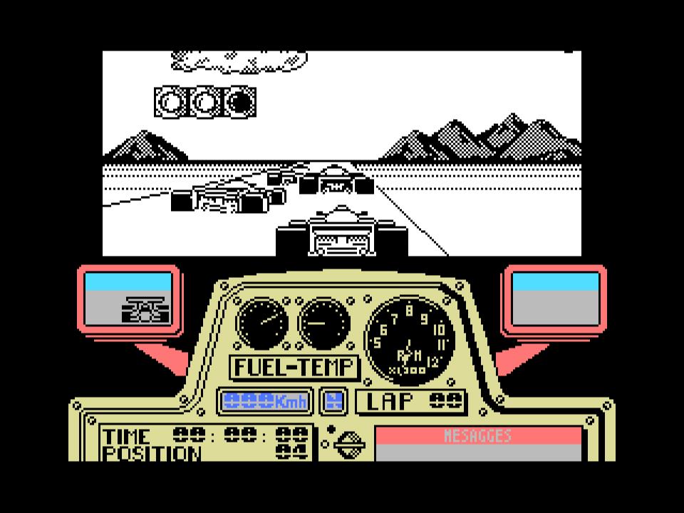 G P  Formula 1 Simulator (1991, MSX, Diabolic) | Generation MSX