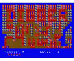Digger (1987, MSX2, Data Beutner)
