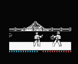 Karateka (1990, MSX, Brøderbund Software)