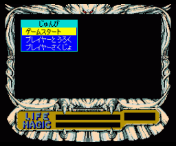 Rune Worth -The Black Clad Young Noble (1990, MSX2, MSX2+, T&ESOFT)