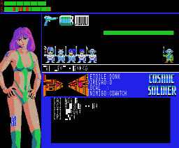 Cosmic Soldier (1985, MSX2, ASCII, Kogado)