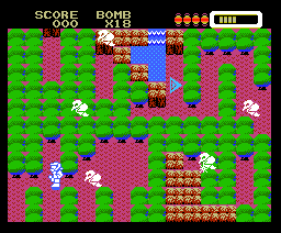 Bomber King (1988, MSX, Hudson Soft)