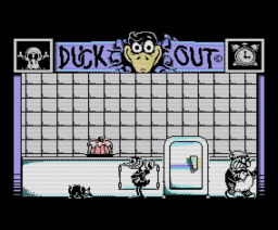 Duck Out (1989, MSX, Dro Soft)