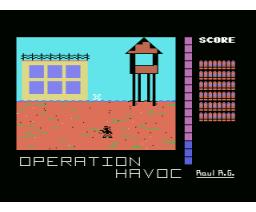 Operation Havoc (1990, MSX, Traposoft)