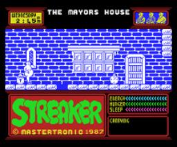 Streaker (1987, MSX, Mastertronic)