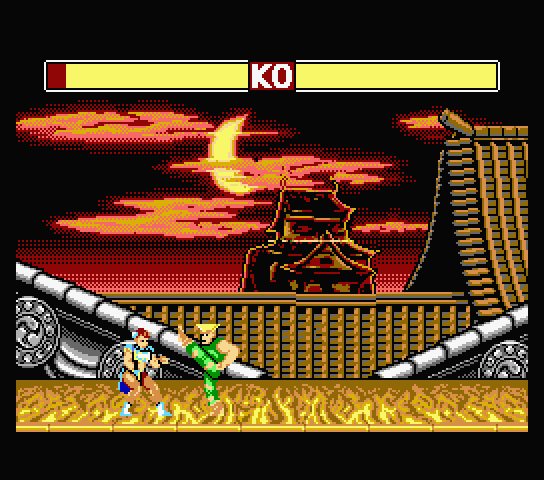 Street Fighter II Neo MSX