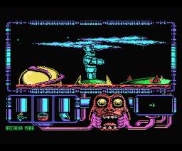 El Poder Oscuro (1988, MSX, Zigurat)