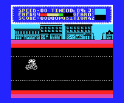 Milk Race (1987, MSX, Mastertronic)