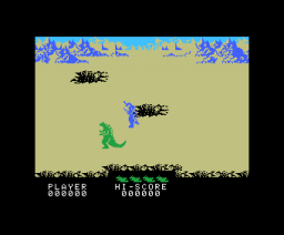 The Godzilla VS 3 Major Monsters (1984, MSX, BANDAI)