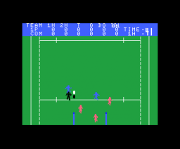 MSX Rugby (1985, MSX, Matsushita Electric Industrial)