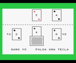 Brisca (MSX, Stars)