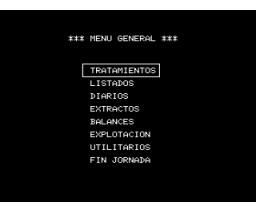 Contabilidad 1500 (1985, MSX, Iveson Software)
