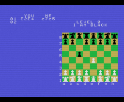 Super Chess (1984, MSX, Kuma Computers)